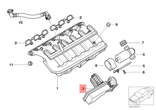 bmw 330ci engine intake diagram