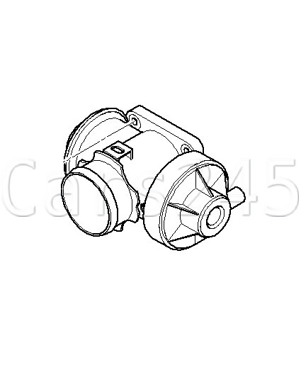 Genuine Egr Valve Exhaust Gas Recirculation Fits Bmw E46 E60 E61 E65