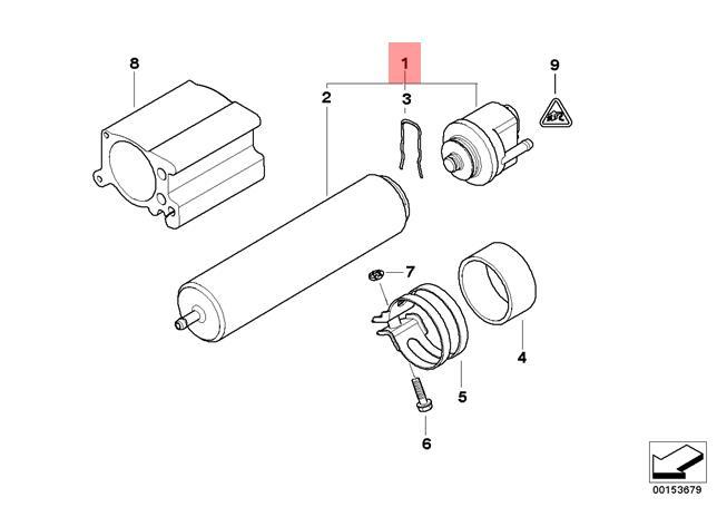 Genuine Bmw E46 E60 E60n E61 E61n Fuel Strainer With Heating Oem