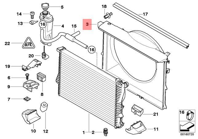 Genuine GM 19130587 Engine Electric Cooling Fan Shroud Kit