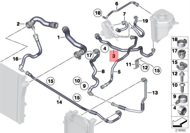 Bmw X5 Radiator Diagram