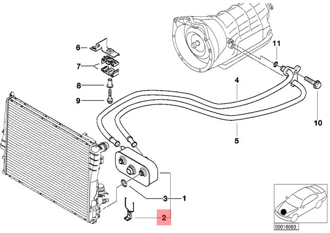 NEW OEM NISSAN TOP RUBBER OIL COOLER LINE FITS ALL ROGUE MODELS 2008-2013
