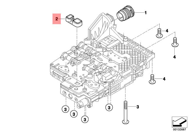 genuine bmw e60 e60n e61 automatic transmission seal