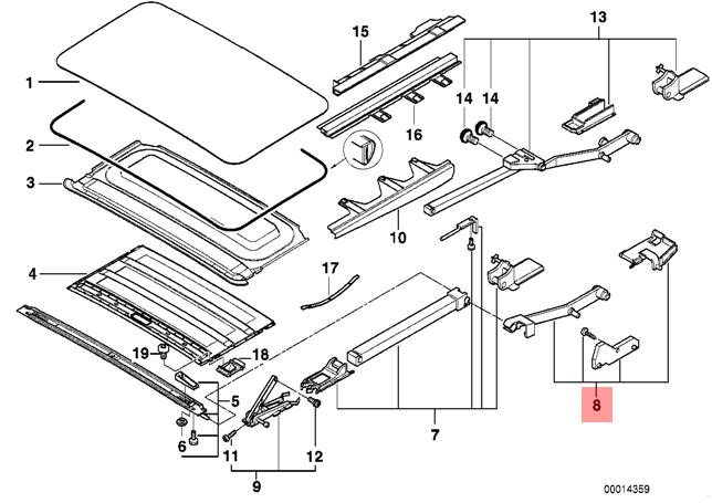 genuine bmw 7 series e38 sunroof water channel left repair kit oem BMW 750iL V12 Engine pictures