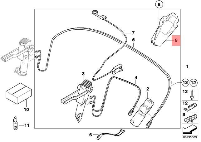 Genuine Noise insulation front VW Beetle Jetta Passat 5C0825237B