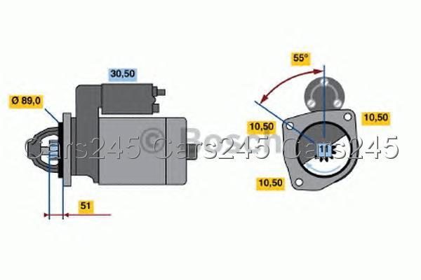Bosch starter motor 12v 0001230002 ebay Bosch electric motors 12v