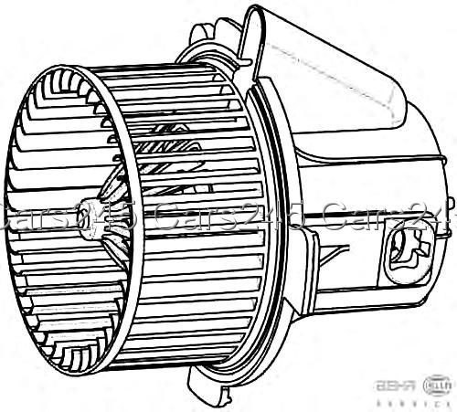 citroen c4 i peugeot 307 hella behr innenraumgebl u00e4se l u00fcftermotor 2000