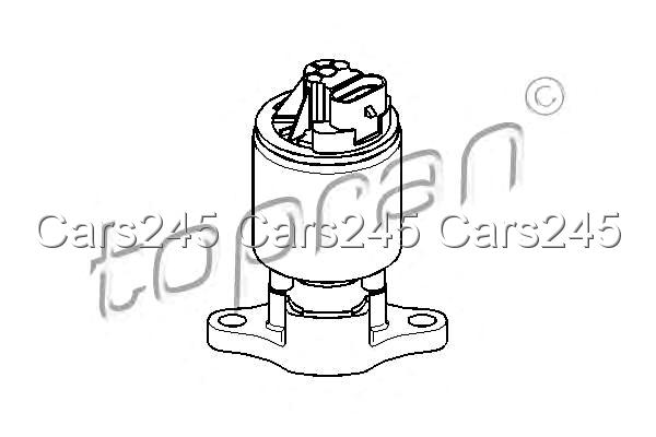 Egr Valve Exhaust Gas Recirculation Fits Opel Vectra B F35 1 4 1 6l