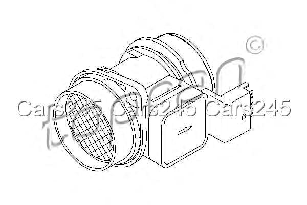 mass air flow sensor maf fits citroen c3 i 1 c2 ford fiesta v peugeot 1 4l 2001