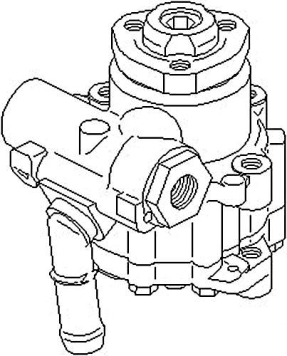 Power Steering Pump Fits Seat Toledo Vw Jetta Mk2 Passat B3 B4 1 0