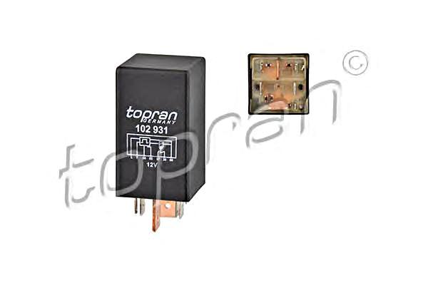 Glow Plug Relay Fits AUDI 100 C2 C3 80 VW Jetta I Lt 28-35 Transporter T4 76-03