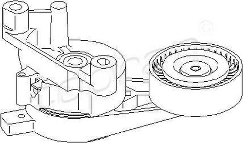 tensioner pulley lever v