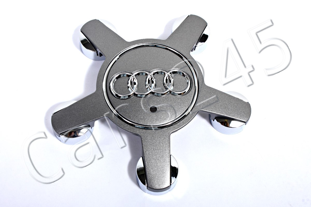 Genuine Alloy Wheel Center Hub Caps 4pcs AUDI 4F0601165N